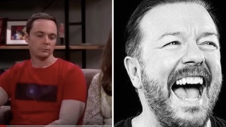 The 'Big Bang Theory' Laugh Track Replaced With Ricky Gervais' Laugh Is The Mockery This Show Deserves