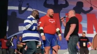 World's Strongest Man Brian Shaw Sets New Weightlifting World Records, Is A Total Freak Of Nature