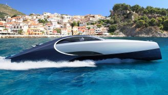 Bugatti Is Building A Luxury Speed Boat Inspired By The $2.6 Million Bugatti Chiron, Complete With A Fire Pit And Jacuzzi