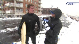 New York Bro Who Went Surfing In The Nor'easter For The First Time Might Be My Spirit Animal