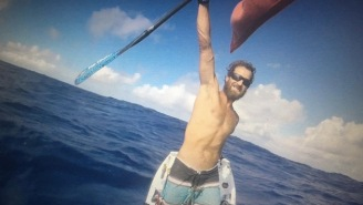 Bro Becomes First Person To Paddleboard Across Atlantic Ocean, A 4,050-Mile Journey