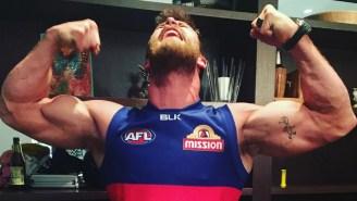 Chris Hemsworth Goes Full-Blown Thor Showing Off Some Of His Super Intense Training Regimen