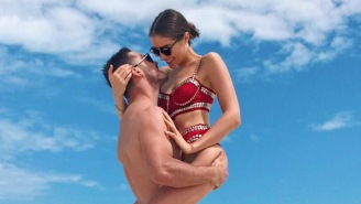Danny Amendola Is Having A GREAT Time On His Tropical Vacation With Miss Universe Olivia Culpo
