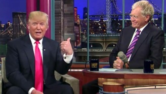 David Letterman Took A Flamethrower To Donald Trump And Every Person In His Administration