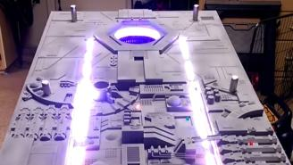 Shut Up And Take My Imperial Credits! This Death Star Cornhole Game Table Is Incredible