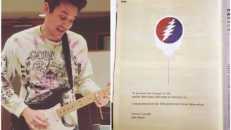 John Mayer Took Out A Full Page Ad In Billboard Magazine Thanking The Grateful Dead For Changing His Life