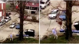 Ohio University Bro Nearly Kills Himself After Falling From High Up In A Tree During High Fest