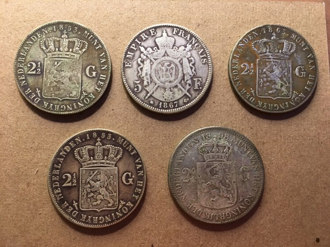 guy finds rare expensive coins