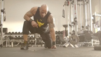 Dwayne 'The Rock' Johnson's Workout Routine Proves He's A God Amongst Men