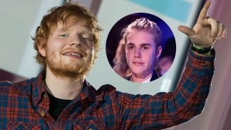 Ed Sheeran Once Got Drunk AF And CRACKED Justin Bieber In The Face With A Golf Club, Is My New Hero
