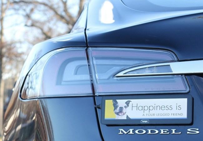 Electric Bumper Sticker