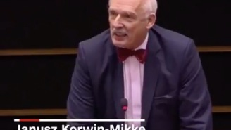 Old European Parliament Dude Making A Case For Why Women Should Earn Less Is So Over-The-Top Sexist It's Laughable