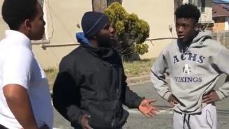 Wise Man Drops Knowledge On Kids Fighting With A Message So Powerful LeBron Shares It