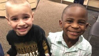 These Two 5-Year-Old Best Friends Got The Same Haircut For Just About The Best Reason Ever