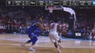 People Are Pissed At Refs For Calling Controversial Flagrant Foul At End Of Seton Hall-Arkansas Game