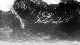 Witness Surfer Francisco Porcella Tame MONSTER Wave At Nazaré In Unbelievable And Frightening Video
