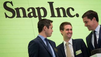 The Snapchat Co-Founders Saved SNAP Inc. Stock Specifically To Make Their Friends Rich As Hell Too