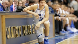 Duke Villain Grayson Allen Should Be Thrown In Jail For This Outrageous Flop Against FSU Last Night