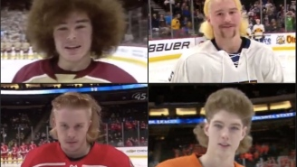 Wild Hair Styles And Gnarly Beards Steal The Show At The Minnesota State HS Hockey Tournament