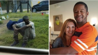 Family Takes In Homeless Man Who Was Sitting In The Same Spot For Years Waiting For His Mother Who Abandoned Him