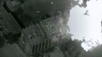 U.S. B-52 Bomber Obliterates ISIS Headquarters