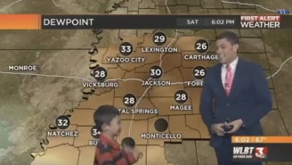 Kid Interrupts Mississippi Weather Report With 'Farts And Toots', Probably Needs Some Ritalin