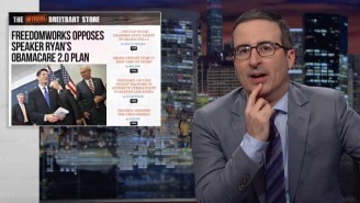 John Oliver Eviscerates The American Health Care Act On 'Last Week Tonight'
