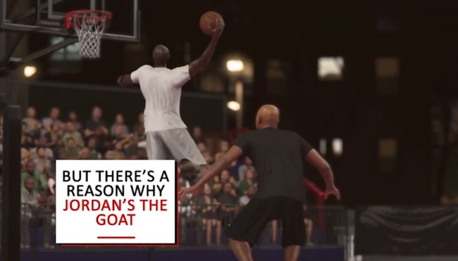 LaVar Ball vs Michael Jordan simulation