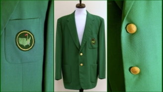 If You Want An Authentic Green Jacket From Augusta National, This One Is Up For Auction Right Now