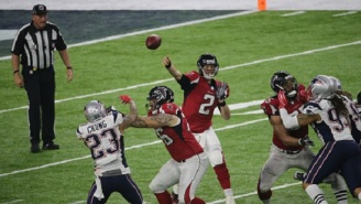 "Falcons QB Matt Ryan Says ""F*** No"" To Shots From Trolling New England Patriots Fans At Bar"