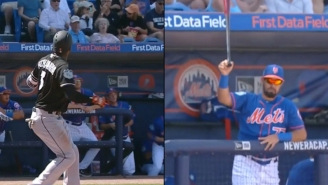 Mets Prospect Caught A Bat That Flew Into The Dugout With One Hand Like A Total Boss