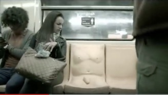 Mexico Installs Subway Seats With Dildos On Them In Unconventional Sexual Harassment Campaign