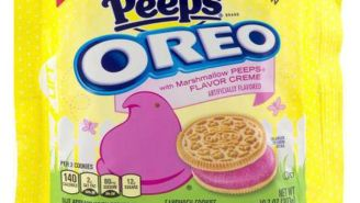 It's National Oreo Cookie Day And Peep-Flavored Oreos Are Turning People's Poop Bright Pink