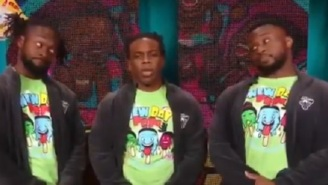 Xavier Woods And The New Day Subtly Joke About Woods' Alleged Leaked Explicit Video With Paige On 'Raw'