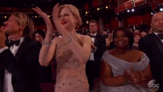 Nicole Kidman FINALLY Explained The Reason For Her CREEPY AF Seal-Like Clapping During The Oscars