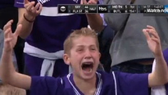 Little Kid Cries After Refs Screw Northwestern With Terrible Call