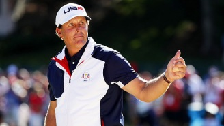 Phil Mickelson Has Some Really Solid Advice For Being A Good Father