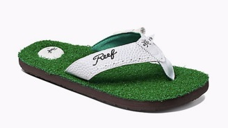 Reef's Mulligan II Sandals Are Golf-Inspired Flip Flops With A Built-In Bottle Opener