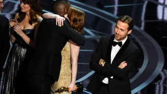 Ryan Gosling Finally Explained His A+ Reaction On Stage During The Oscars' Best Picture Debacle
