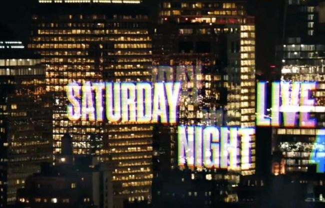 Saturday Night Live Opening Credits