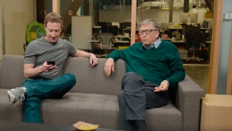 Harvard Dropouts Mark Zuckerberg And Bill Gates — Net Worth Of $141 Billion — Crack Jokes About Not Graduating