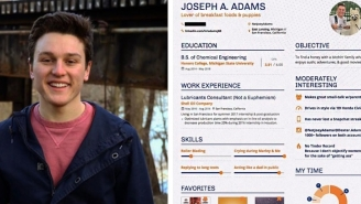 Michigan State Bro Creates An Incredible Dating Resume, Is Now An Instant Legend With The Ladies