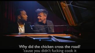 John Legend Sings Classic Gordon Ramsay Insults