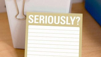 These Sticky Notes Are 'Seriously' Perfect For Passive Aggressive People, So, That's Like Everybody