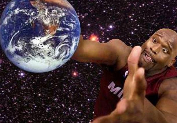 Shaq Earth Flat