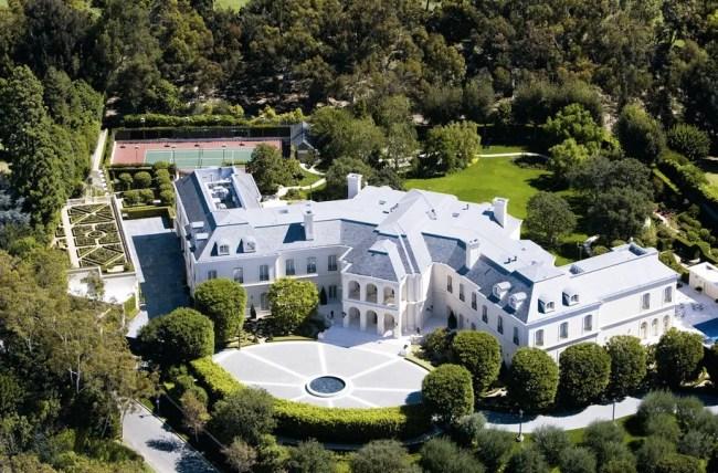 Spelling Manor LA Mansion