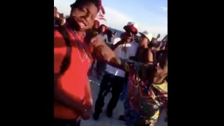 This May Be The Cleanest, Most Vicious Knockout In The History Of Spring Break