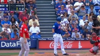 Tim Tebow Has Words For Umpire After Striking Out On First Four Pitches In Spring Training Debut With The Mets