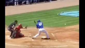 Watch Max Scherzer Strike Out Tim Tebow On Three Very Fast Pitches