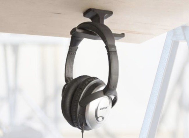 The Anchor: The Original Under-Desk Headphone Stand Mount